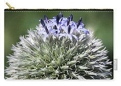Blue Globe Thistle 3 - Carry-all Pouch