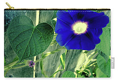 Blue Glory Bloom Carry-all Pouch by Tony Grider