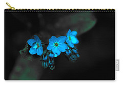 Blue Glow Carry-all Pouch
