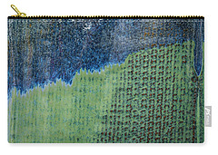 Blue/green Abstract Two Carry-all Pouch