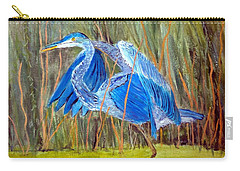 Blue Heron In Viera  Florida Carry-all Pouch