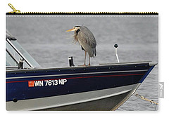Blue Heron Boat Ride Carry-all Pouch