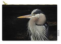 Blue Heron Gaze Carry-all Pouch