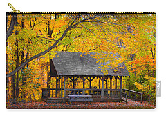 Blue Heron Park In The Fall Carry-all Pouch