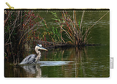 Blue Heron Pond Carry-all Pouch
