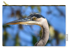 Blue Heron Profile Carry-all Pouch