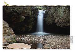 Carry-all Pouch featuring the photograph Blue Hole In Spring #2 by Jeff Severson