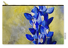Blue Carry-all Pouch by Holly York