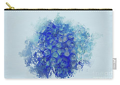 Blue Hortensia Carry-all Pouch by Eva Lechner