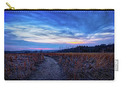 Carry-all Pouch featuring the photograph Blue Hour After Sunset At Retzer Nature Center by Jennifer Rondinelli Reilly - Fine Art Photography