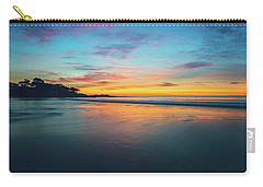 Blue Hour At Carmel, Ca Beach Carry-all Pouch