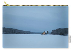 Blue Hour At The Old Stone Church Carry-all Pouch