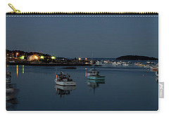 Blue Hour Boats In Maine Carry-all Pouch