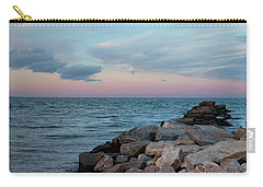 Carry-all Pouch featuring the photograph Blue Hour Martha's Vineyard by Marianne Campolongo