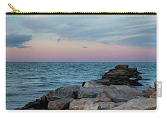 Blue Hour Martha's Vineyard Square Carry-all Pouch by Marianne Campolongo