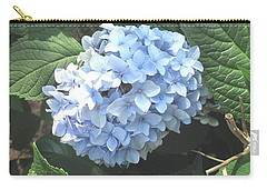Blue Hydrangnea Carry-all Pouch