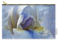 Blue Iris Fog Carry-all Pouch
