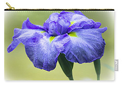 Blue Iris Carry-all Pouch by Venetia Featherstone-Witty
