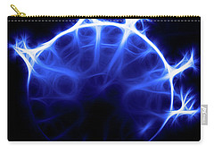 Blue Jelly Fish Carry-all Pouch