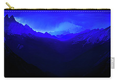 Carry-all Pouch featuring the photograph Blue by John Poon