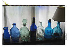 Blue Carry-all Pouch by John Scates