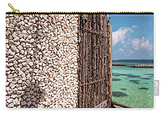 Carry-all Pouch featuring the photograph Blue Lagoon View 1 by Jenny Rainbow