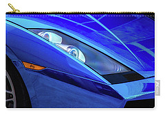 Blue Lamboghini Carry-all Pouch