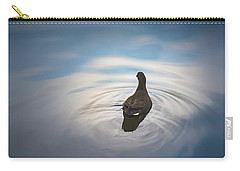 Blue Light Moorhen Carry-all Pouch