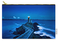 Blue Lighthouse Carry-all Pouch