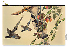 Blue Magpie, Urocissa Magnirostris Carry-all Pouch