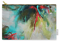 Blue Man 2 Carry-all Pouch by Suzzanna Frank