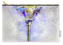 Blue Martini Carry-all Pouch by Jon Neidert