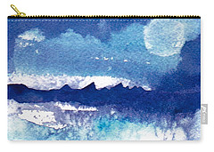 Blue Mohave Moon Carry-all Pouch