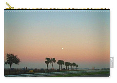 Blue Moon At Twilight Carry-all Pouch