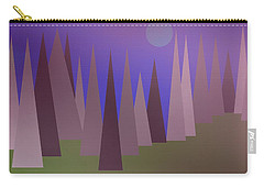 Blue Moon Carry-all Pouch by Kathleen Sartoris