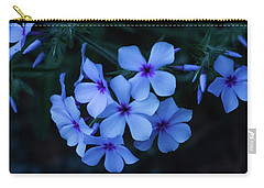 Carry-all Pouch featuring the photograph Blue Moon Phlox by Cristina Stefan
