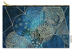 Blue Moon Carry-all Pouch by Riana Van Staden
