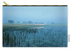 Carry-all Pouch featuring the photograph Blue Morning Flash by Jorge Maia