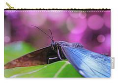 Blue Morpho  Butterfly 2 Carry-all Pouch