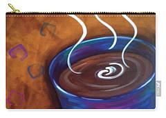 Blue Mug Carry-all Pouch by Dani Abbott
