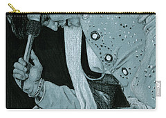Blue Nail Suit Carry-all Pouch