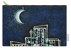 Blue Night Carry-all Pouch