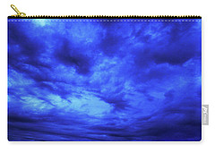 Blue Night Carry-all Pouch by Mark Blauhoefer