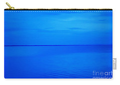 Blue Ocean Twilight Carry-all Pouch by Randy Steele