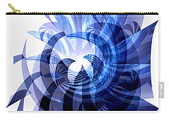 Blue Octopus  Carry-all Pouch by Thibault Toussaint