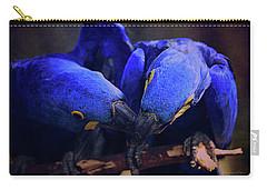 Blue Parrots Carry-all Pouch
