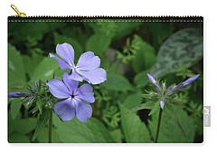 Blue Phlox Carry-all Pouch by Tim Good