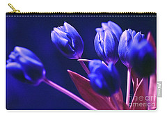 Blue Poetry Carry-all Pouch
