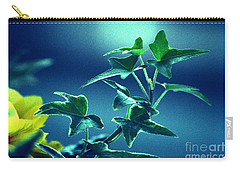 Carry-all Pouch featuring the photograph Blue Power  by Susanne Van Hulst