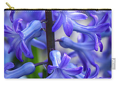 Carry-all Pouch featuring the photograph Blue Rhapsody by Byron Varvarigos